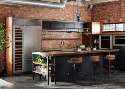 Industrial_Brickwall-Kitchen_01