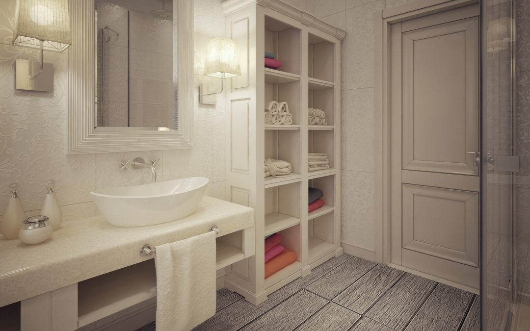 Solving Storage Problems through Bathroom Design