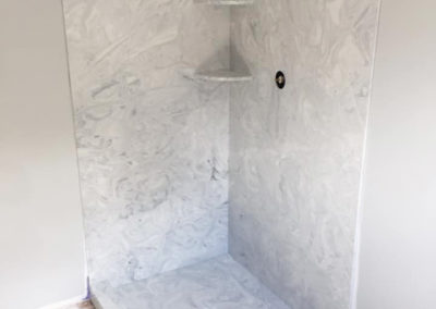 Marble Walk-In Shower