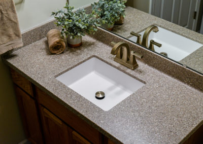 Marble Countertops in Bathroom