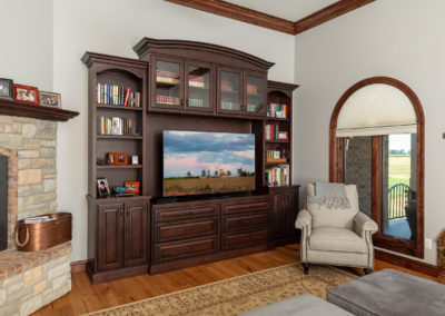 Black Maple Entertainment Center from Shiloh