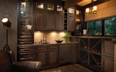 An Amazing Wet Bar or Dry Bar Can Work in a Small Space