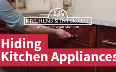 Hiding Your Kitchen Appliances with Cabinet Panels